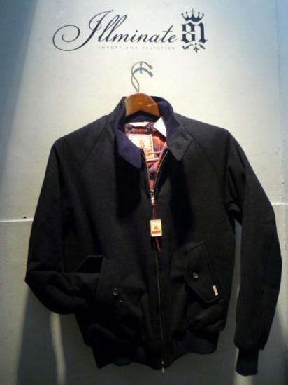 BARACUTA G-9  Jacket Wool / Cashmere Quirt inner