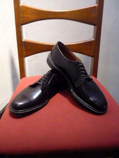 ALDEN PLAIN TOE BROWN