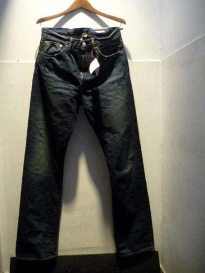 RRL STRAIGHT REG  DENIM PANTS