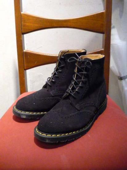 Illminate Shoes Supply Wing-tip Suede Boots