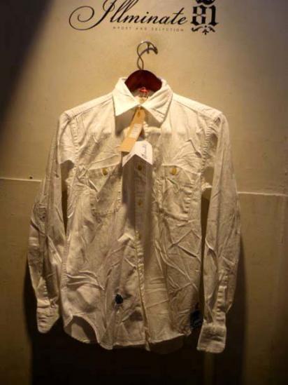 REDs Italy white work shirts