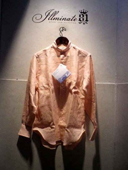 INDIVIDUALIZED SHIRTS Linen Mao collar