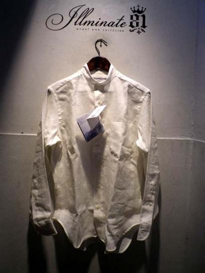 INDIVIDUALIZED SHIRTS Linen Mao collar