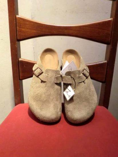 BIRKENSTOCK BOSTON SUEDE Beige