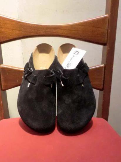 BIRKENSTOCK BOSTON SUEDE Black