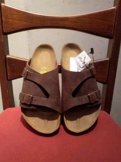 BIRKENSTOCK ZURICH Brown<BR>SALE! 12,800 + Tax → 8,960 + Tax