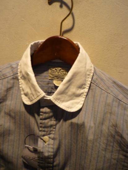 RRL Round collar Shirts