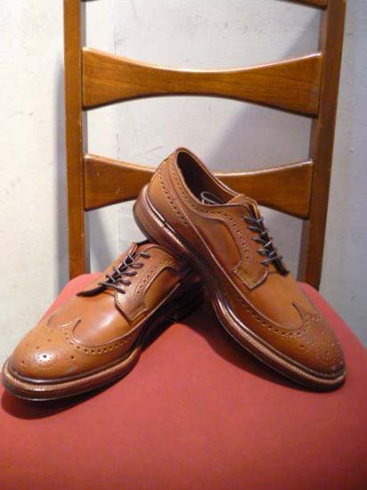 ALDEN Wing Tip Shoes Whisky Cordovan Barrie Last