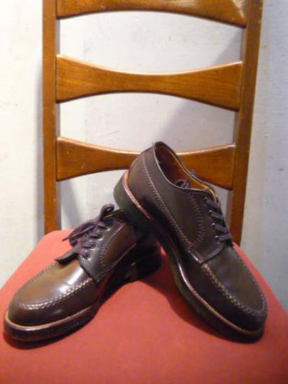 Alden Moc Toe Shoes Cigar Cordovan Van Last Crape Sole