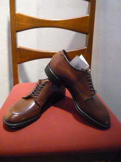 ALDEN V tip shoes Modified Last Ravello