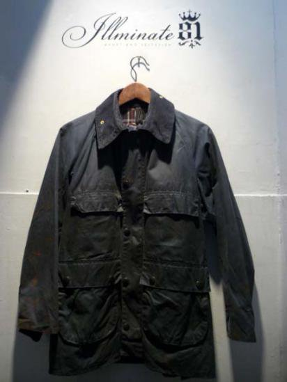 BARBOUR Bedale 80's Vintage Navy