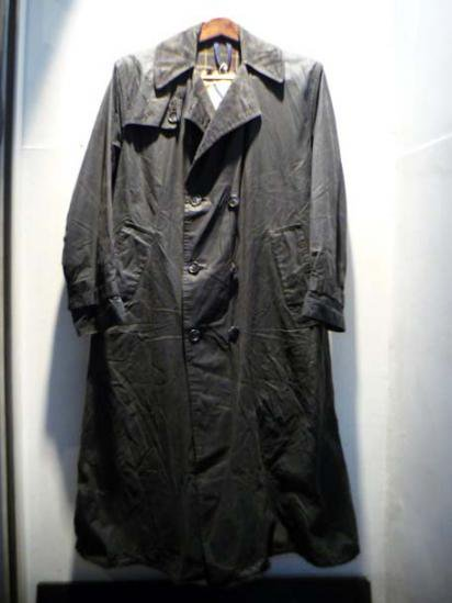 BARBOUR Trench coat 80's Vintage