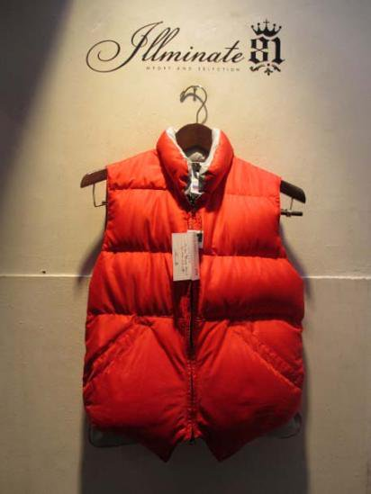 Crescent Down Works North by North West Vest Red