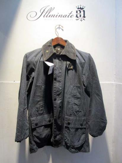 BARBOUR Bedale 80-90's Vintage Navy