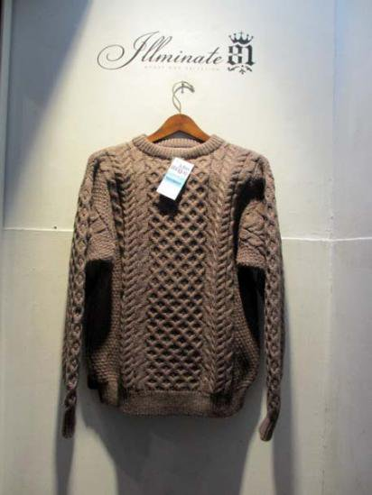 John Molloy Wool Crew neck Brown