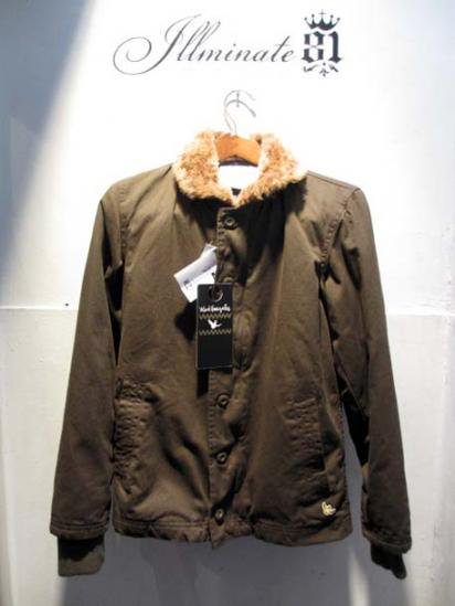 Mark Gonzales N-1 Type Jacket Olive