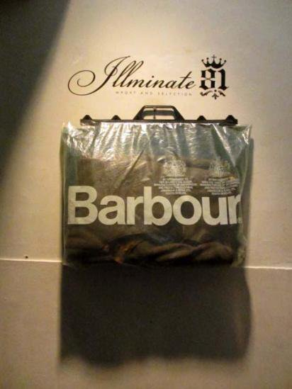 BARBOUR  Pile Lining 70-80's Dead stock