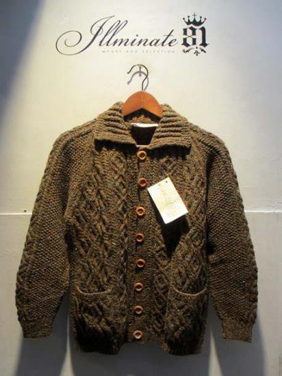 INVERALLAN  Lumber Cardigan Brown