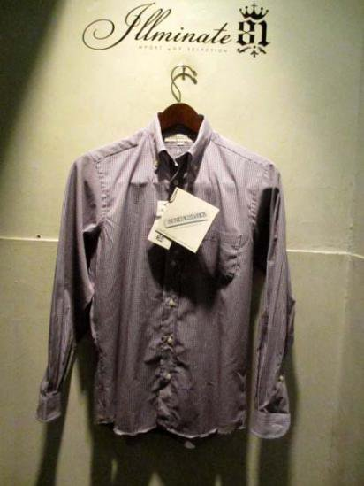 INDIVIDUALIZED SHIRTS Gingham  illminate別注