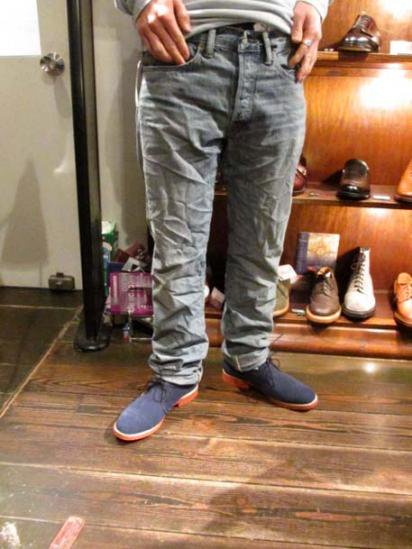RRL Low Straight Denim style sample