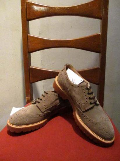 Brunello Cucinelli Made in Italy Wing Tip Shoes