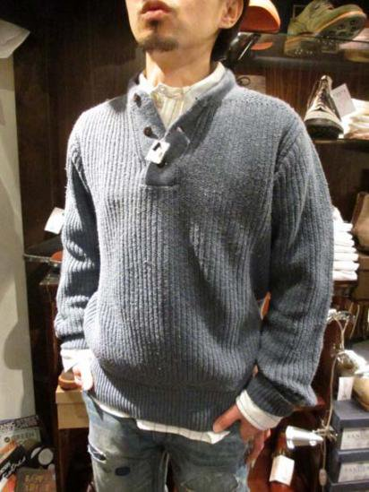 RRL Vintage Military Cotton Knit style sample