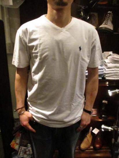 Ralph Lauren V-neck T Sample style