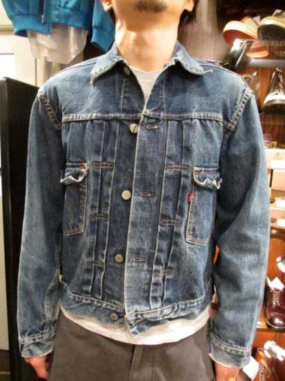 LEVI'S 507XX Leather Patch 50`S Vintage  Style sample