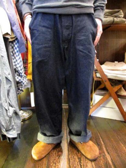 US Navy Denim Pants 40's Vintage Style sample