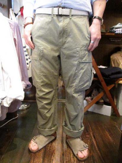 RRL Cotton Rip Stop Cargo Pants  Sample Style