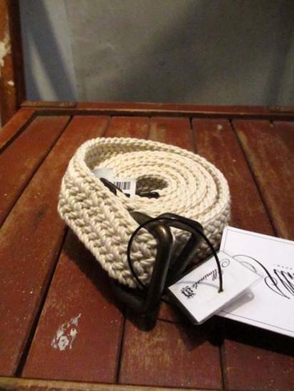 J.Crew Cotton Belt Made in USA