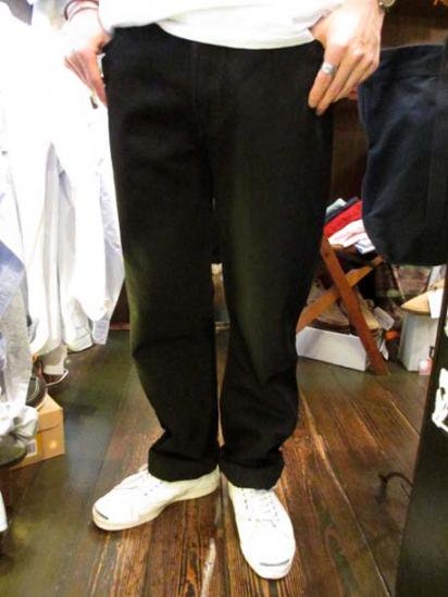 Levi's 501 Made in USA BLACK DEAD STOCK Style sample
