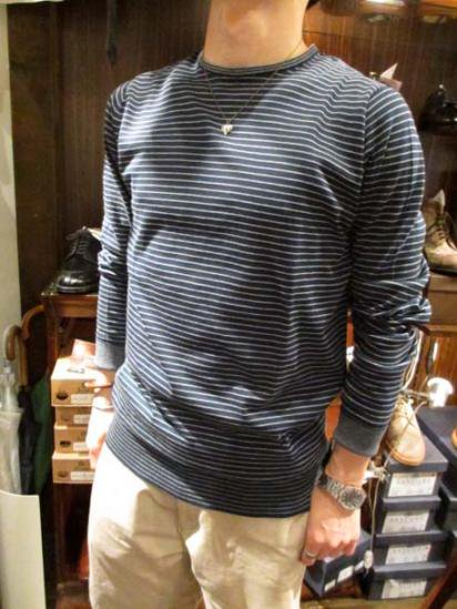 John Smedley Sea Island Cotton Crew-neck Style sample