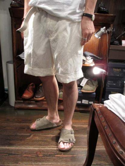 Ralph Lauren LINEN/SILK Easy Shorts Style sample