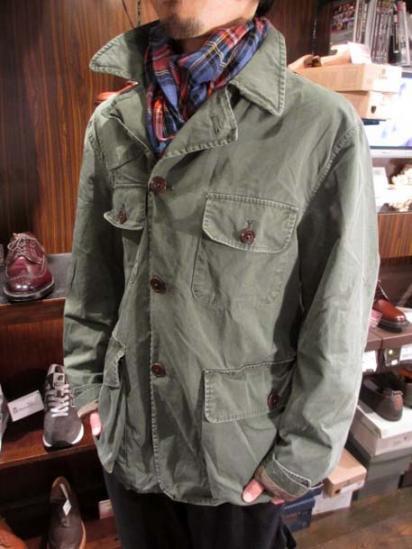 Ralph Lauren Cotton Poplin Hunting Jacket Style sample
