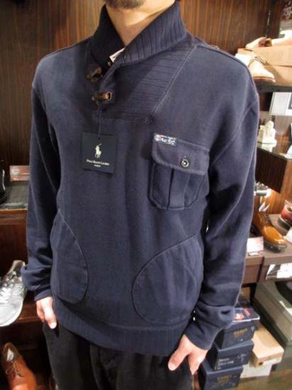 Ralph Lauren Sweat Shawl Jacket  Style sample
