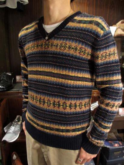 Ralph Lauren Fair Isle Knit  Style sample