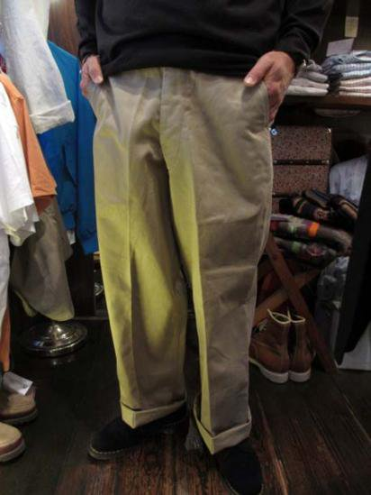 US Army Chino Pants 50's Vintage  Style sample