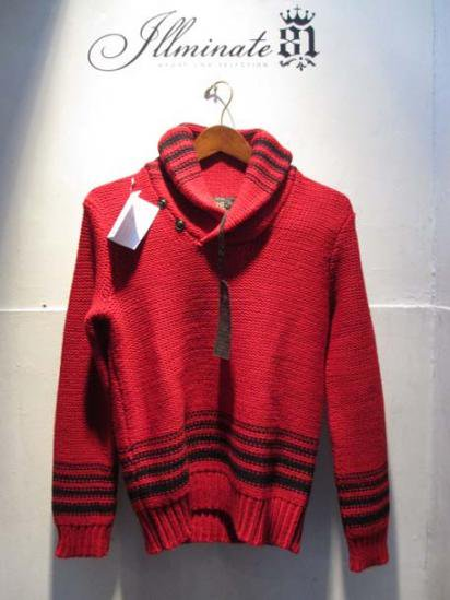 RRL Shawl-Collar Knit