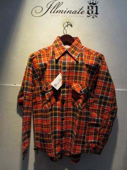 60-70's Dead Stock FROSTPROOF Flannel Shirts Made in U.S.A