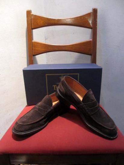 Tricker's Suede  loafer