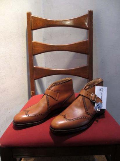 Crockett & Jones  Monk Strap brogue Boots