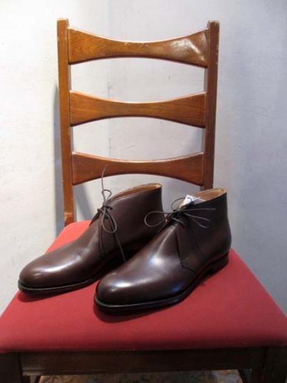 Crokett & Jones chukka boots