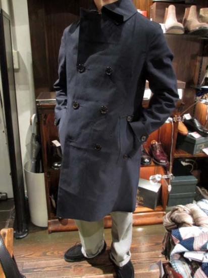 Mackintosh MONKTON Rubberised Coat Style sample