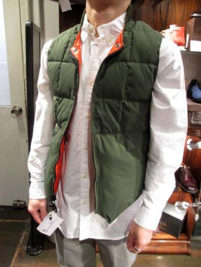 Crescent Down Works Quilted Down Vest  Style sample