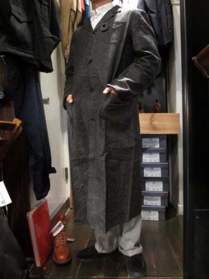〜50's Vintage Dead Stock Black Chambray Work Jacket/Coat  Style sample