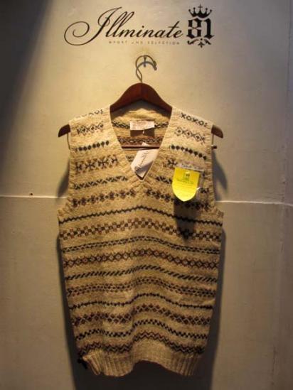 INVERALLAN Wool FairIsle Vest