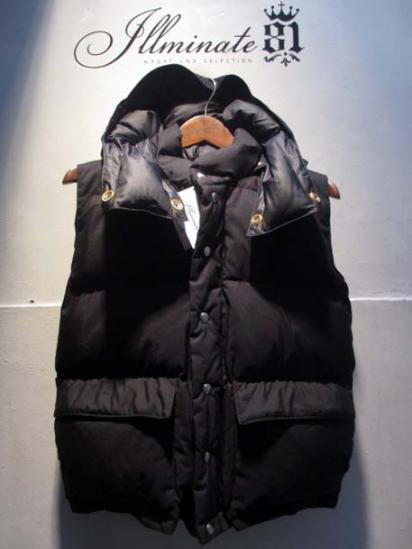 Crescent Down Works Italian Vest With Food & Flap Pocket