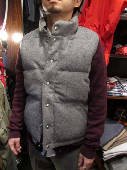 Crescent Down Works Wool Italian Vest Style sample