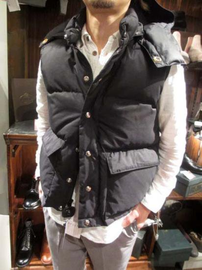 Crescent Down Works Food Italian Vest Style sample